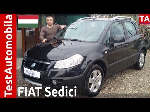FIAT Sedici - SUZUKI SX4 - 1.6 Benz. TEST