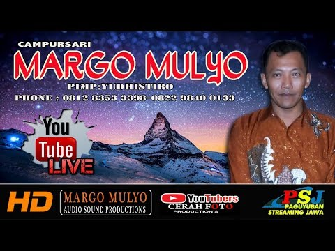 Live Streaming campursari MARGO MULYO   Live PASAR MINGGU