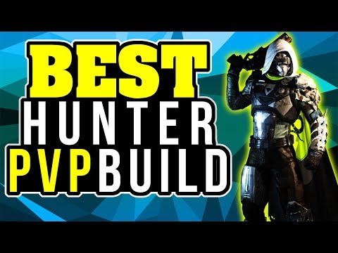 Destiny 2 BEST HUNTER PVP BUILD MAX Recovery Max Resilience Best TRIALS HUNTER BUILD