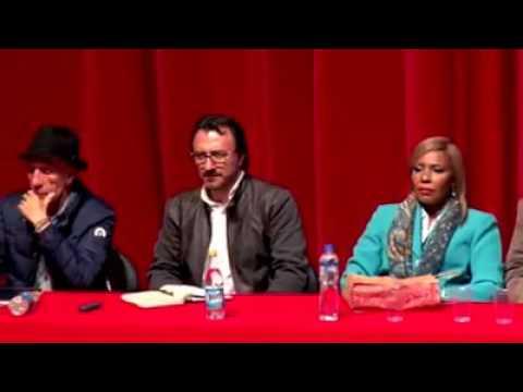 Noche cultural y diálogos de paz