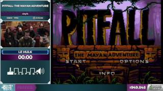 Pitfall: The Mayan Adventure by le_hulk in 10:59 - Awesome Games Done Quick 2017 - Part 161