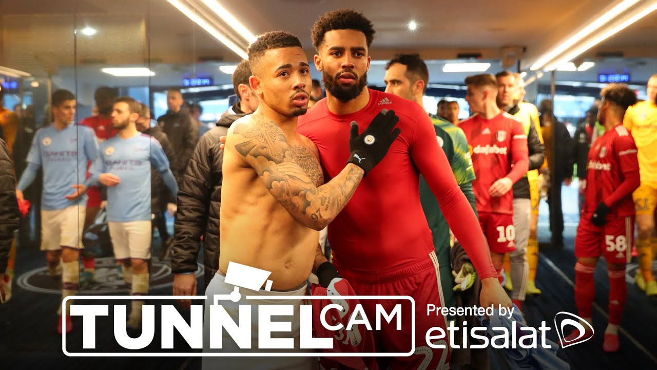 TUNNEL CAM | MAN CITY 4-0 FULHAM FC | EMIRATES FA CUP