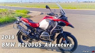 "Essai ""26 - BMW R1200GS Adventure 2018"