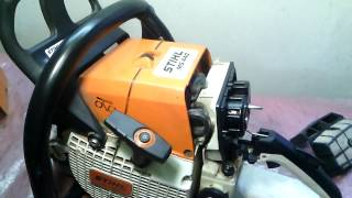 Не заводиться бензопила Stihl ms 440.Ремонт карбюратора.Регулювання карбюратора