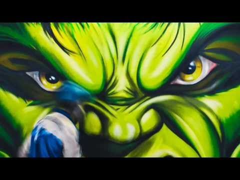Zdesroy - Hulk Graffiti GYM