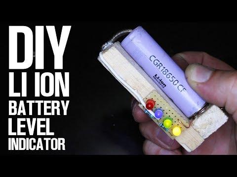 DIY Li Ion Battery LED Level Indicator