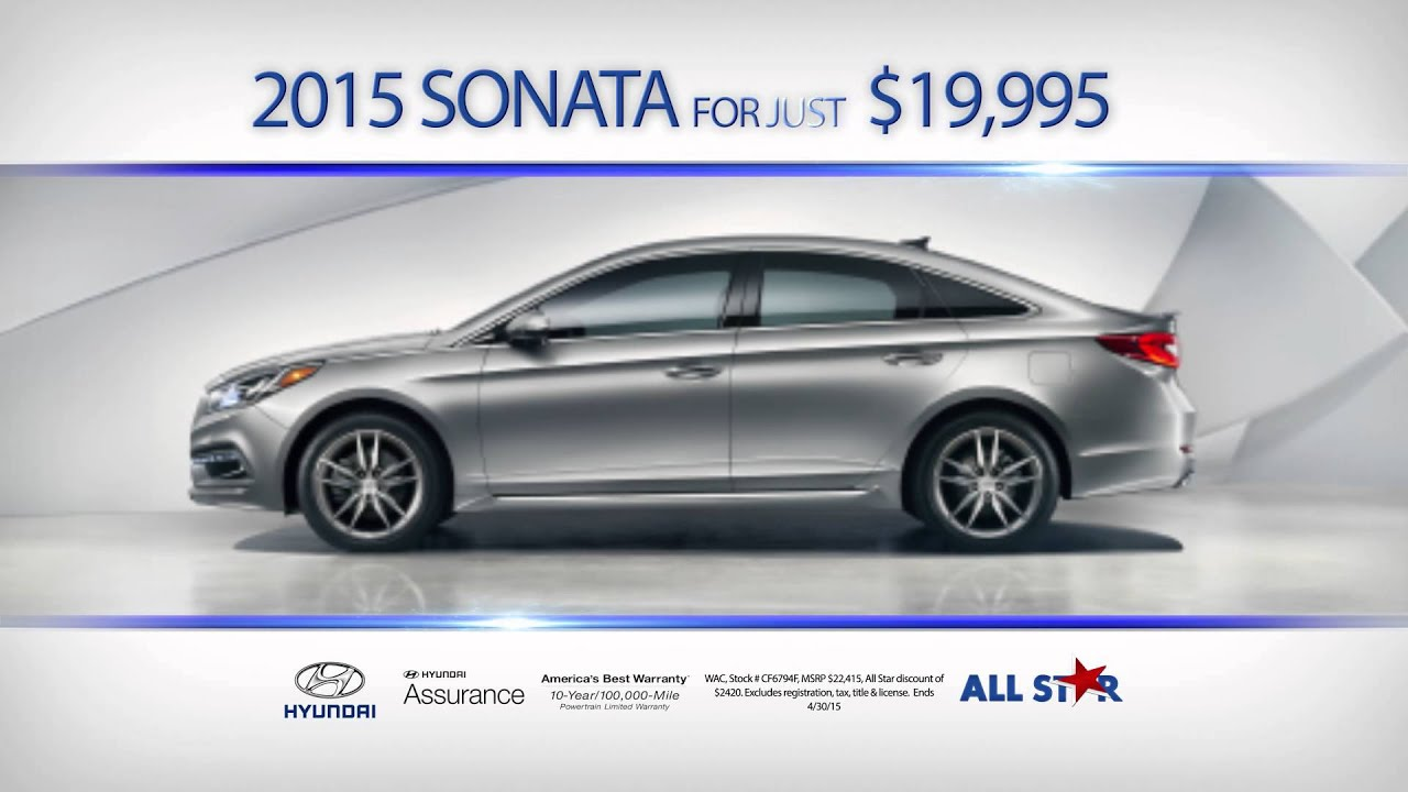 All Star Hyundai Of Baton Rouge   April 2015   Upgrade Event