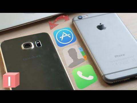 Перешел с iPhone на Android - ЛЕГКИЙ способ перенести любые данные