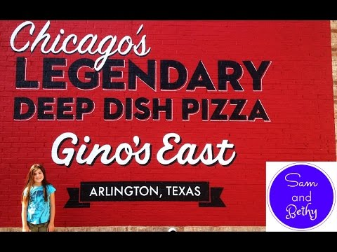 Sam and Bethy Review Gino's East Deep Dish Pizza