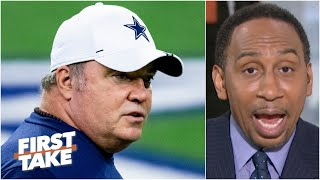 Stephen A. doesn't hold back his issues with Mike McCarthy and the Cowboys | First Take