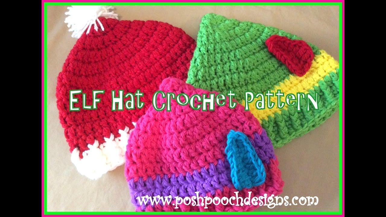 Elf Hat Crochet Pattern Youtube