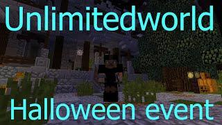 Minecraft Unlimitedworld   Halloween Event    Wie man hintern Gittern kommt