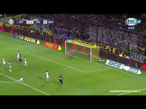 Gol do título do Boca Juniors - Carlitos Tevez
