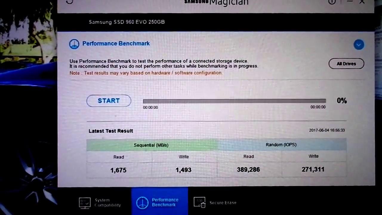 Samsung 960 Evo M2 250gb Mvme Pci Express 20 X4 Benchmark Youtube Ssd Nvme