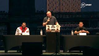 Masvidal vs Diaz: UFC 244 press conference best bits