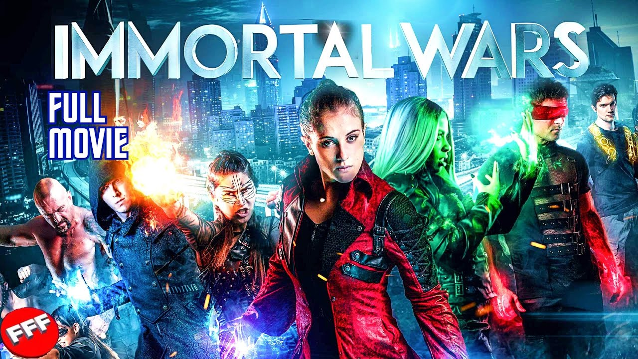 Download THE IMMORTAL WARS   Full POST-APOCALYPSE SCI-FI ACTION Movie