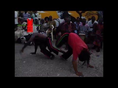 Afrikan Capoeira to Drums