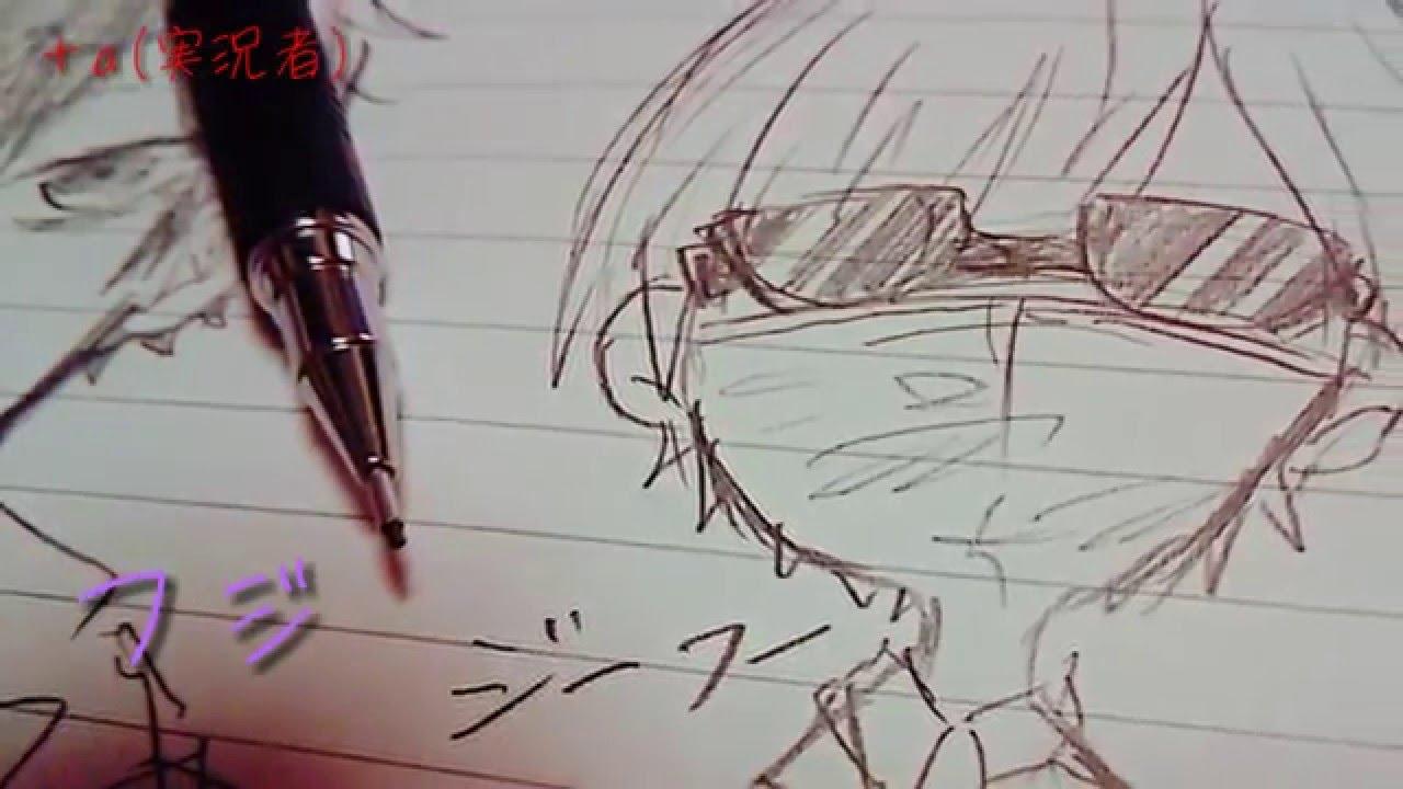 自分絵で十四松猫耳パーカー描いてみた イラスト紹介 ハイキュー おそ松さん A Youtube