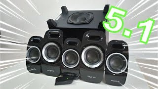 BEST 5.1 Speakers For PC+Sound Test - Creative Inspire T6300 5.1 Speakers System