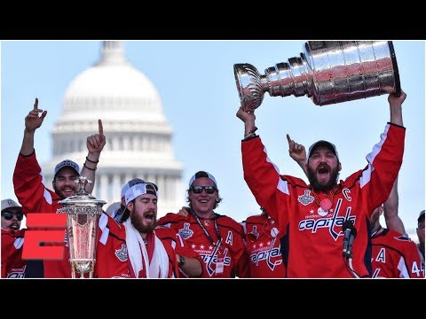 [FULL] Alex Ovechkin and Washington Capitals celebrate 2018 Stanley Cup championship | ESPN