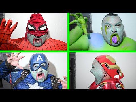 Superheroes Become Zombies