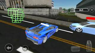 Police Car Chase Simulator | Cops Race Cars for Kids Game Play