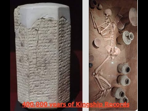 Sumerian Kings List, Over 400,000 Years, The Tablet that Re-writes History! Live from Oxford