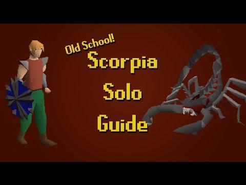 Old School RuneScape - Scorpia Solo Guide