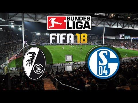 FIFA 18 Bundesliga Sport-Club Freiburg : FC Schalke 04 | Gameplay Deutsch Livestream