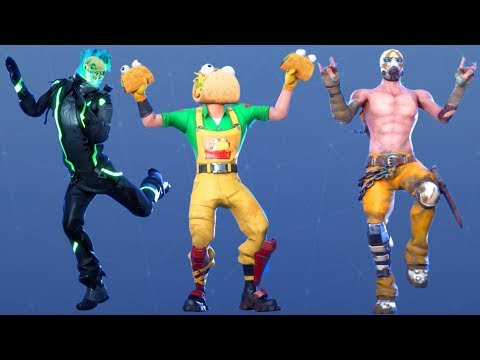 Fortnite All Dances Season 1-10 Updated To Taco Time
