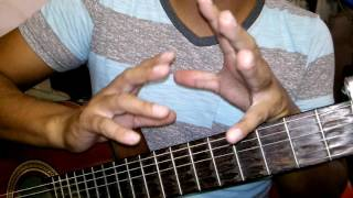 Amber - On My Own. How to play on guitar. Como tocar en Guitarra. Acordes. Chords.