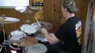 "JASON ALDEAN ""Take A Little Ride"" (Drum Cover # 2)"