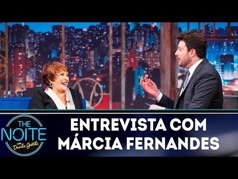 Entrevista com Márcia Fernandes   The Noite 150419