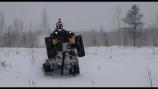 800 Can Am Renegade - Let's rip that snow!!!