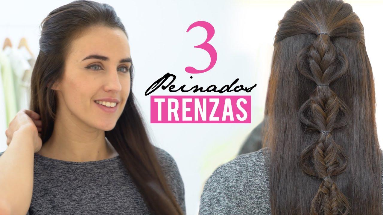 Peinados bonitos con trenzas youtube - Peinados y trenzas ...