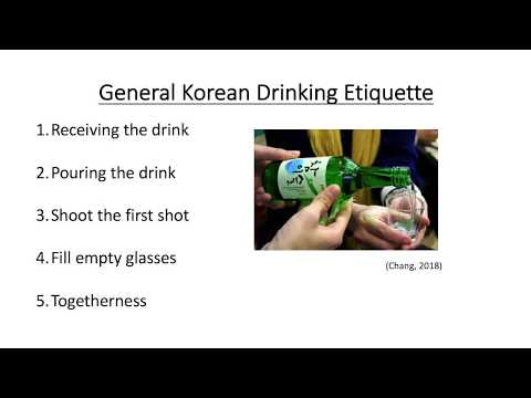 Korean Drinking Culture