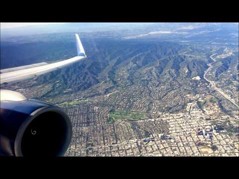 Delta 757-200 - Seattle to Los Angeles (Great engine sound and views!)