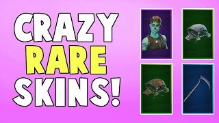 Fortnite: Crazy Rare Skins! | End of Season 3 Locker and Career Overview (Battle Royale)