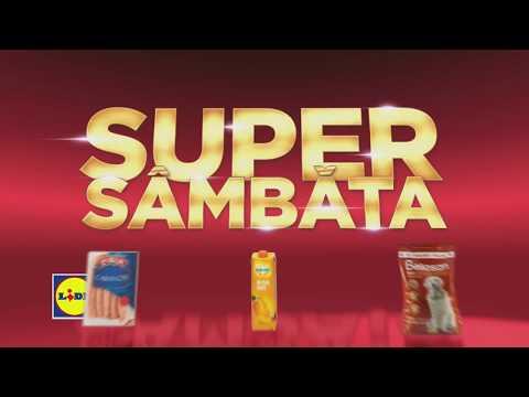 Super Sambata la Lidl • 8 Septembrie 2018