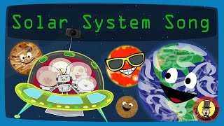 Planets Song | Solar System Song | The Singing Walrus