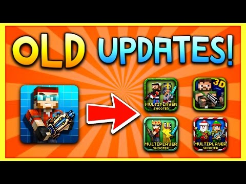 How to Get the Old Versions of Pixel Gun 3D! (Android Tutorial)