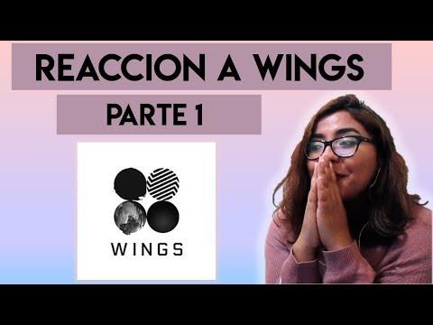 WINGS   BTS   ALBÚM REACCIÓN (PARTE 1)