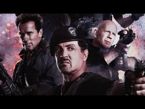 THE EXPENDABLES 2 - Arnold Schwarzenegger, Bruce Willis - OFFICIAL TRAILER (HD)