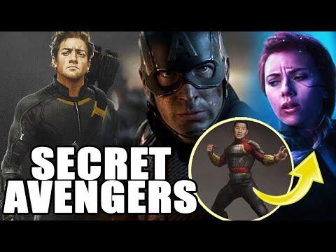 ¡MÁS SECUELAS PARA BLACK WIDOW! Secret Avengers podría ser un nuevo proyecto para Marvel Studios