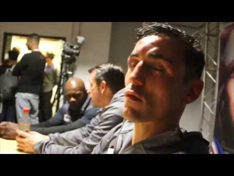 ANTHONY CROLLA LEFT DEVASTATED AS HE REACTS TO DISAPPOINTING DEFEAT TO JORGE LINARES IN MANCHESTER