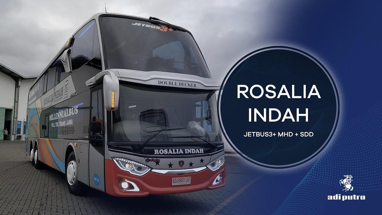 Po Rosalia Indah Punya 6 Bus Baru Intip Tampilan Dan Fiturnya Kumparan Com