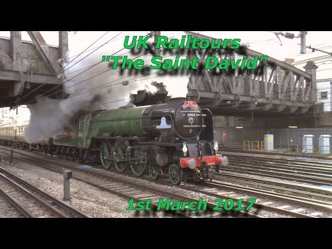 60163 Tornado On The Saint David at Royal Oak on 1st March 2017