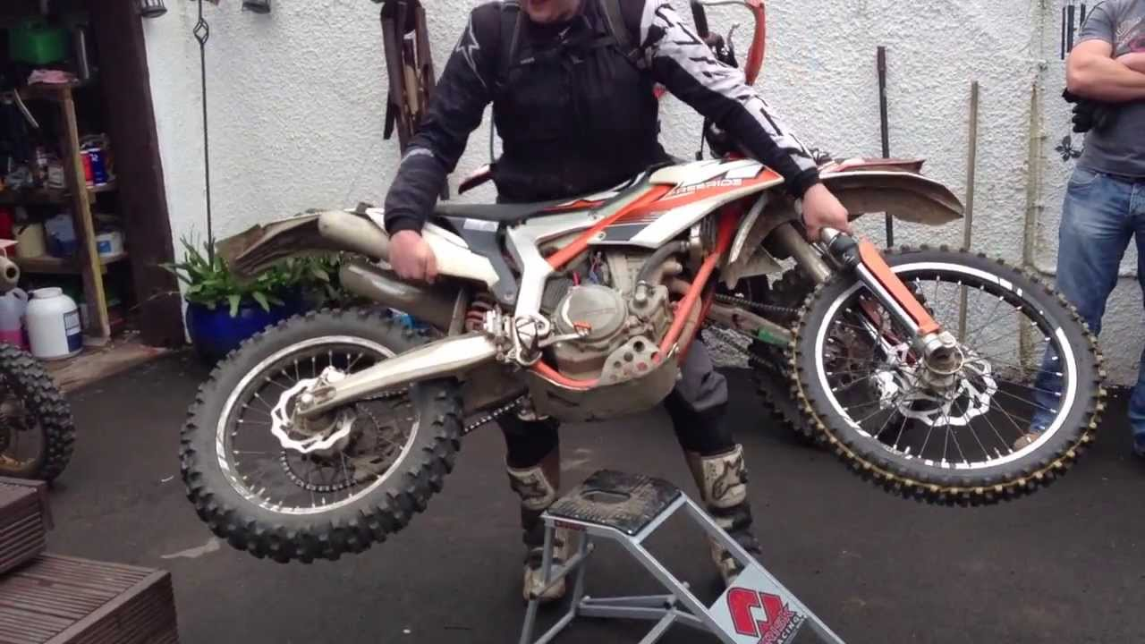 ktm freeride 350 is for wimps - YouTube