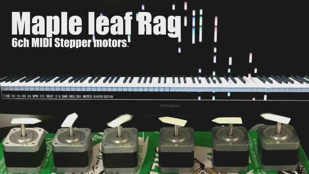 Maple Leaf Rag - Stepper Motor Music