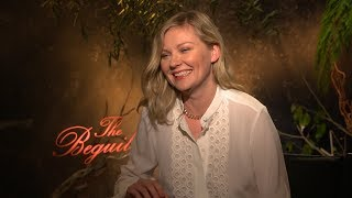 Kirsten Dunst Gets Real About Kissing Colin Farrell (The Beguiled)